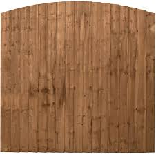 Waltons Wooden Fence Panels 6x6 Feather Edge Curved Top Fencing Border 6 X 6 6ft X 6ft Amazon Co Uk Garden Outdoors