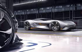 virtual all electric sports car
