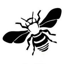 Bee Decal Bee Farm Decal Yeti Cup Decals Mailbox Decal Save The Bees Bee Decals Bee Stencil Bee Sticker