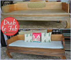 an outdoor teak day bed