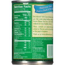fresh cut blue lake cut green beans