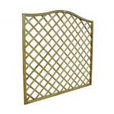 Forest Europa Hamburg Decorative Fence Panel H 180cm X W 180cm X D 4cm