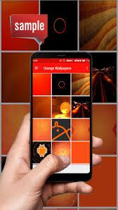 خلفيات برتقالية For Android Apk Download