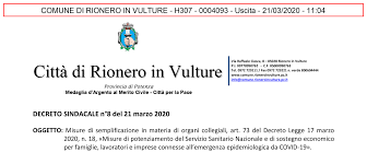 Città di Rionero in Vulture - Home