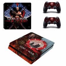 Game God Of War 4 Ps4 Slim Skin Sticker Consoleskins Co