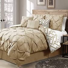 chic style taupe tan bedding sets