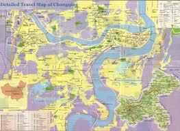 chongqing map chongqing china map