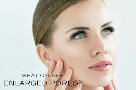 say goodbye to large pores