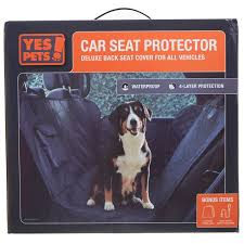 yes pets deluxe car seat cover from