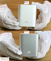 Thủ Thuật ] Nhận Biết Pin Sạc Dự Phòng Xiaomi Fake Và Chính Hãng !!!
