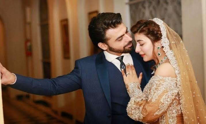 Image result for urwa hocane farhan saeed wedding