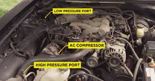 how to vacuum ac system in your car