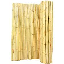 Amazon Com Backyard X Scapes Natural Rolled Bamboo Fence 1in D X 4ft H X 8ft L Garden Outdoor