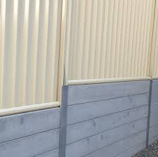 Did You Want To Add A Colorbond Fence Durawall Concrete Sleeper Retaining Walls Facebook