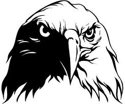 Eagle Window Decal Window Decals Eagle Drawing World Map Art Animal Silhouette
