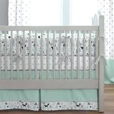 winning navy chevron crib sheet and