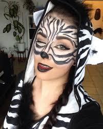 zebra makeup look 2yamaha