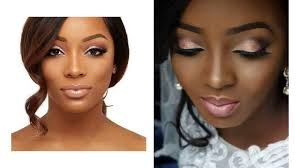 natural bridal makeup for dark skin