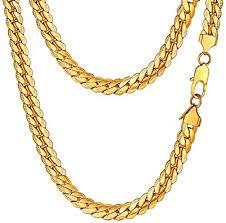 prosteel men jewelry gold chain for men