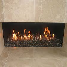 fireplace to use glass rocks
