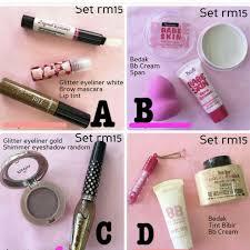 set makeup terlajak murah health