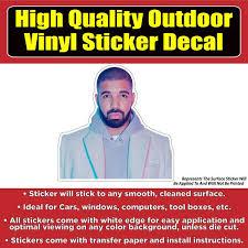 Drake Vinyl Car Window Laptop Bumper Sticker Decal Colorado Sticker