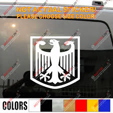 Coat Of Arms Of Germany German Eagle Vinyl Car Decal Bumper Sticker Bumper Sticker Decal Stickercoat Car Aliexpress