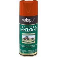 valspar massey red spray paint 018 5339