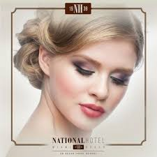 bridal formal makeup application