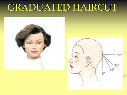 ppt graduated haircut powerpoint