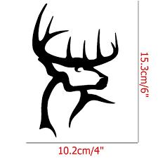 2pcs Lot Buck Commander Funny Jdm Sticker Car Rear Windshield Truck Bumper Laptop Kayak Etc Hunter Hunting Deer Gun Vinyl Decal Wish