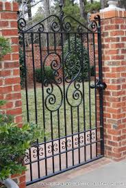 Raleigh Wrought Iron And Fence Co Custom Wrought Iron Gates In Raleigh Nc Durham Chapel Hill Wrought Iron Garden Gates Iron Garden Gates Iron Gate Design