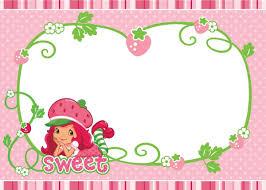 Pin Invitaciones Para Baby Shower Bautizo Kit Imprimible Nno Con Imagenes Cumpleanos De Frutillita Fiesta De Strawberry Shortcake