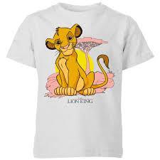 disney lion king simba pastel kids t