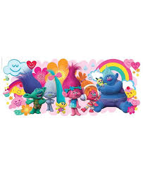 York Wallcoverings Trolls Movie Peel And Stick Giant Wall Decals Reviews All Wall Decor Home Decor Macy S