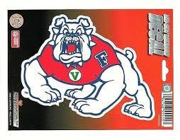 Fresno State Bulldogs Die Cut Static Cling Decal Sticker 5 X 4 New Car Window 5 99 Picclick