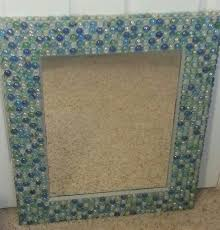 diy glass bead mirror total cost about