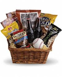 take me out to the ballgame basket in
