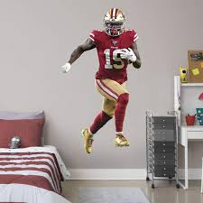 Deebo Samuel Officially Licensed Nfl Removable Wall Decal