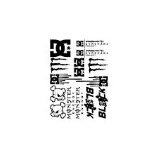 Passion Stickers Cars Bumper Stickers Decals Kit Ken Block Dc Shoes Monster Energy
