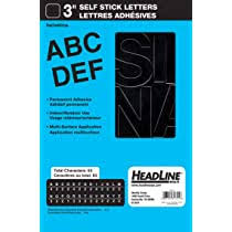 Duro Decal Permanent Adhesive Vinyl Letters Numbers 2 Gothic Black Pack Of 2 Amazon Com