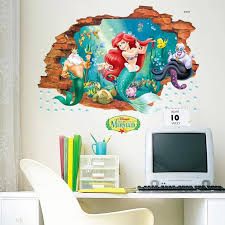 Disney The Little Mermaid Wall Stickers The Treasure Thrift