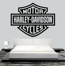 Pin By Md Shahjada Alam On Garage Workshop In 2020 Harley Davidson Wall Art Harley Davidson Decor Harley