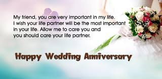 how to wish for wedding anniversary for friend
