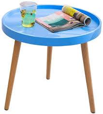 com coffee table plastic side