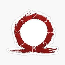 God Of War Omega Sticker By Gekidami Redbubble