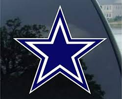 Amazon Com Wincraft Nfl Dallas Cowboys Decal4x4 Perfect Cut Color Decal Team Colors One Size Sports Fan Automotive Decals Sports Outdoors