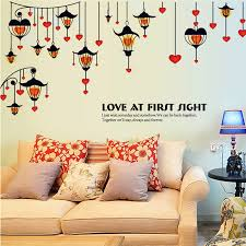 Cool Removable Hanging Light Lamps Wall Stickers Art Vinyl Quote Decal Mural Home Bedroom Decor Retro Sticker Drop Shipping Cool Home Decor Olivia Decor Decor For Your Home And Office