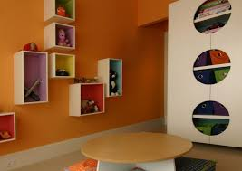 Wall Mounted Box Shelves A Trendy Variation On Open Shelves