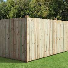 Pressure Treated Wood Fencing Fencing The Home Depot